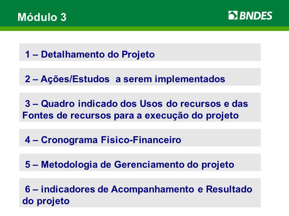 Módulo 3 1 – Detalhamento do Projeto
