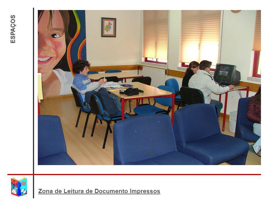 ESPAÇOS Zona de Leitura de Documento Impressos