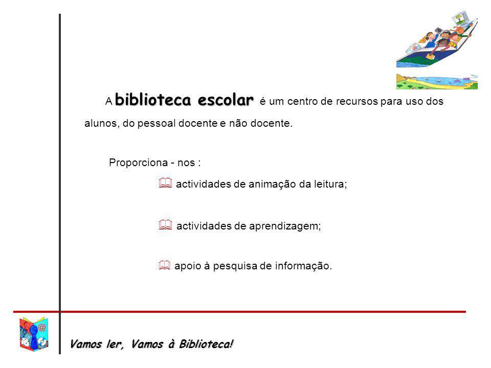  actividades de animação da leitura;