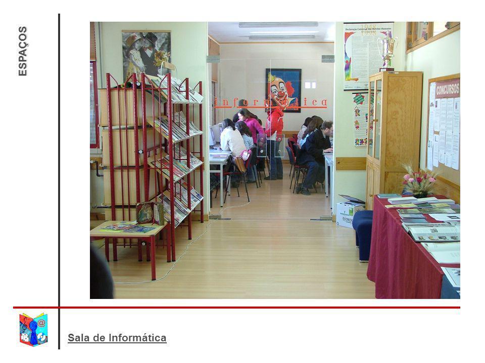 ESPAÇOS Sala de Informática