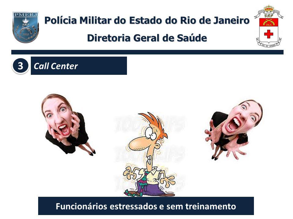 3 Polícia Militar do Estado do Rio de Janeiro Diretoria Geral de Saúde