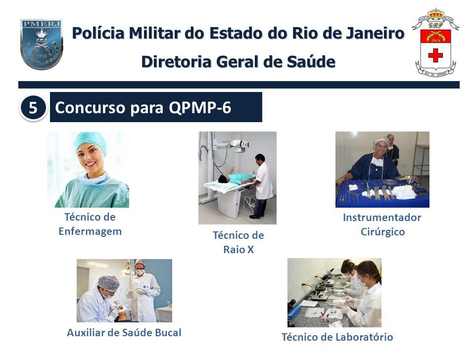 Concurso para QPMP-6 5 Polícia Militar do Estado do Rio de Janeiro