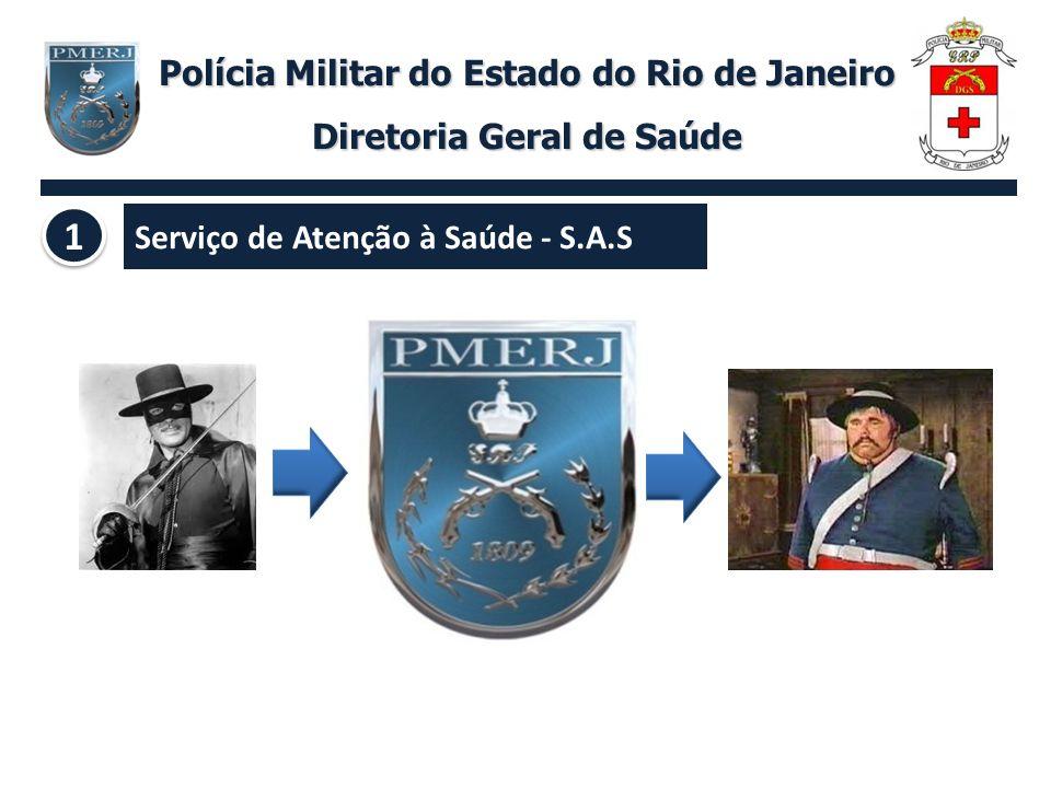 1 Polícia Militar do Estado do Rio de Janeiro Diretoria Geral de Saúde