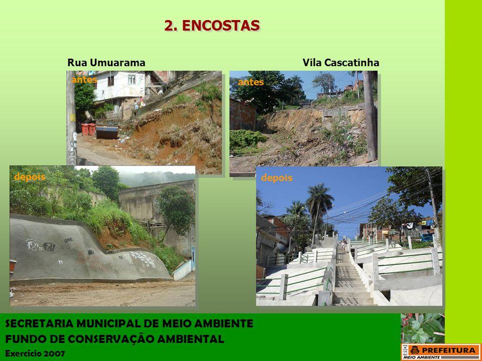 2. ENCOSTAS SECRETARIA MUNICIPAL DE MEIO AMBIENTE