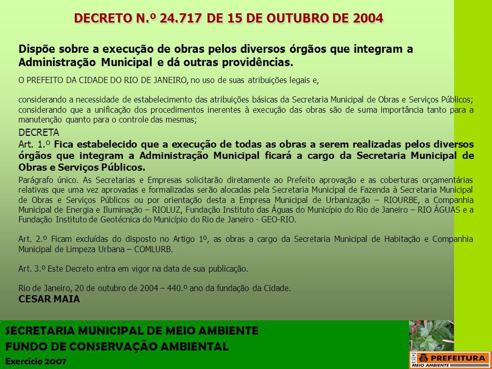 DECRETO N.º 24.717 DE 15 DE OUTUBRO DE 2004