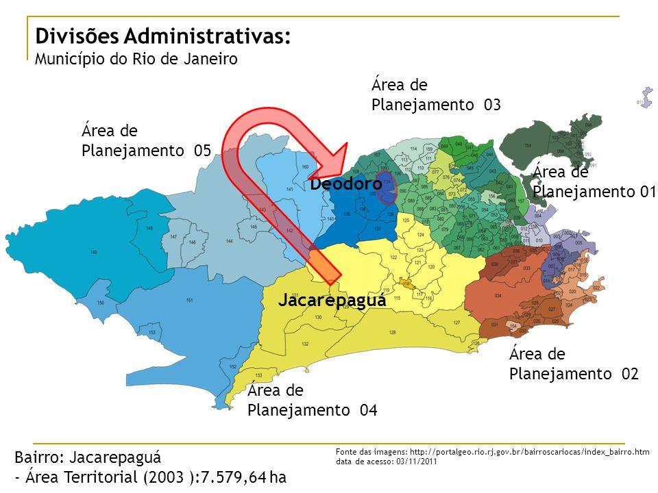Divisões Administrativas: