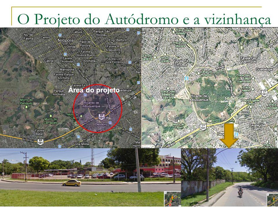 O Projeto do Autódromo e a vizinhança