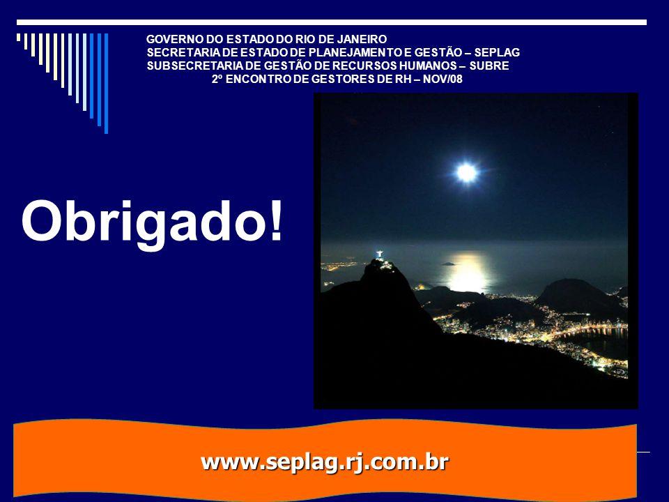 Obrigado! www.seplag.rj.com.br