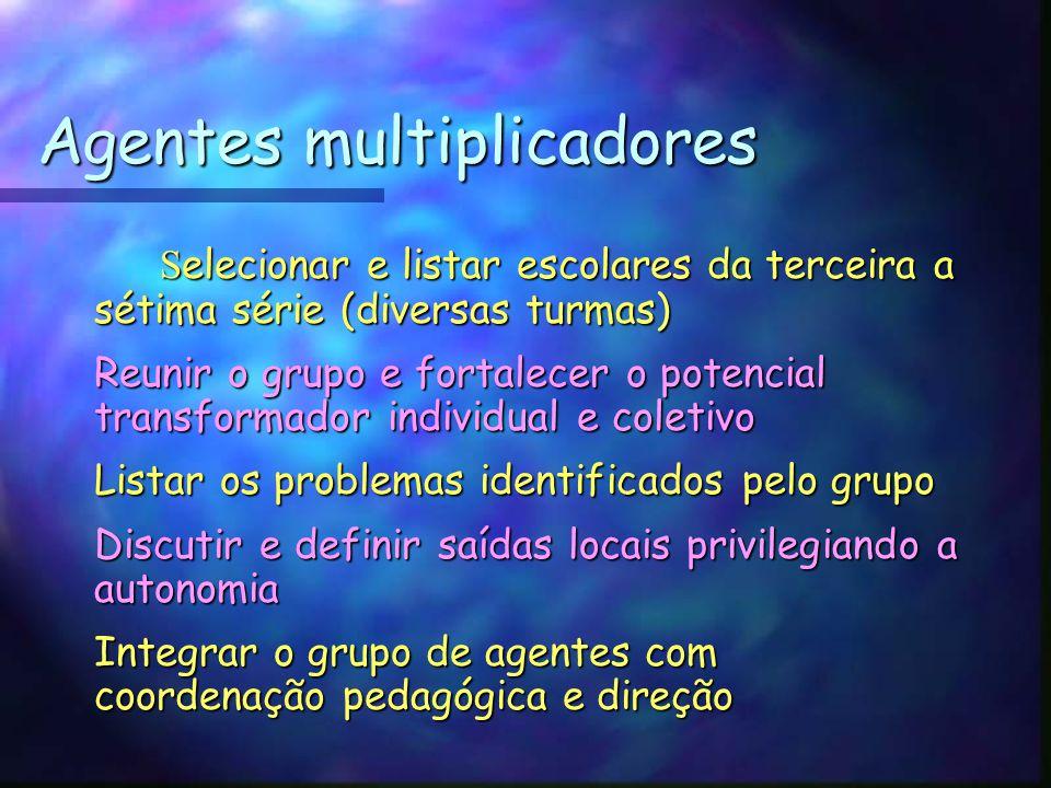 Agentes multiplicadores