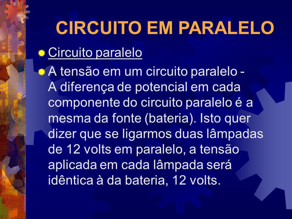 CIRCUITO EM PARALELO Circuito paralelo