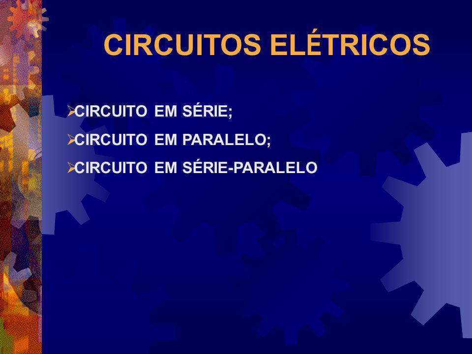 CIRCUITOS ELÉTRICOS CIRCUITO EM SÉRIE; CIRCUITO EM PARALELO;