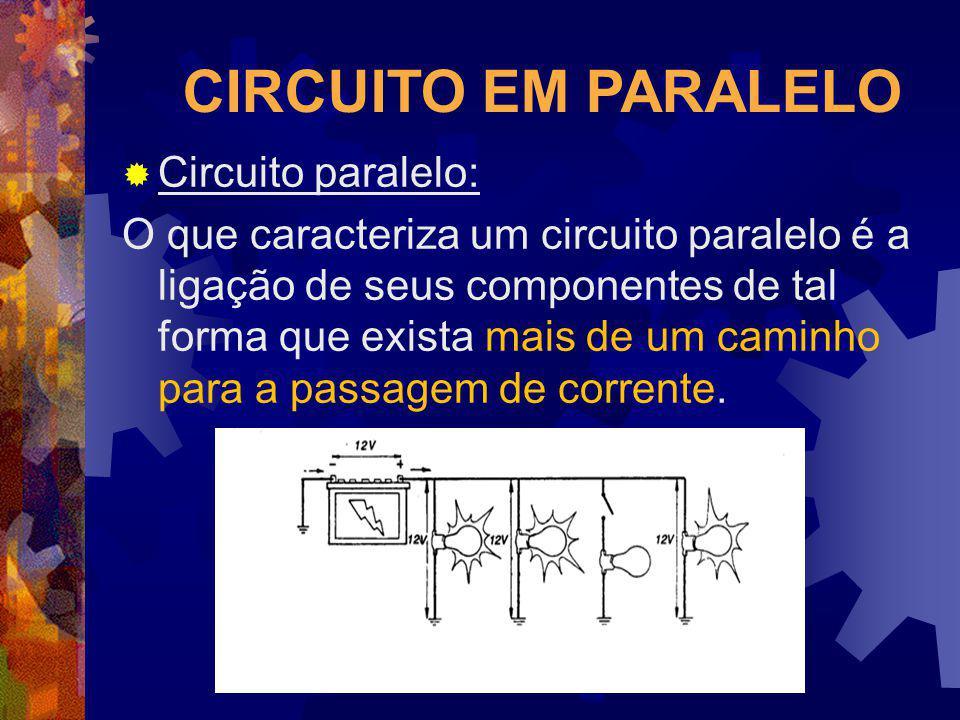 CIRCUITO EM PARALELO Circuito paralelo: