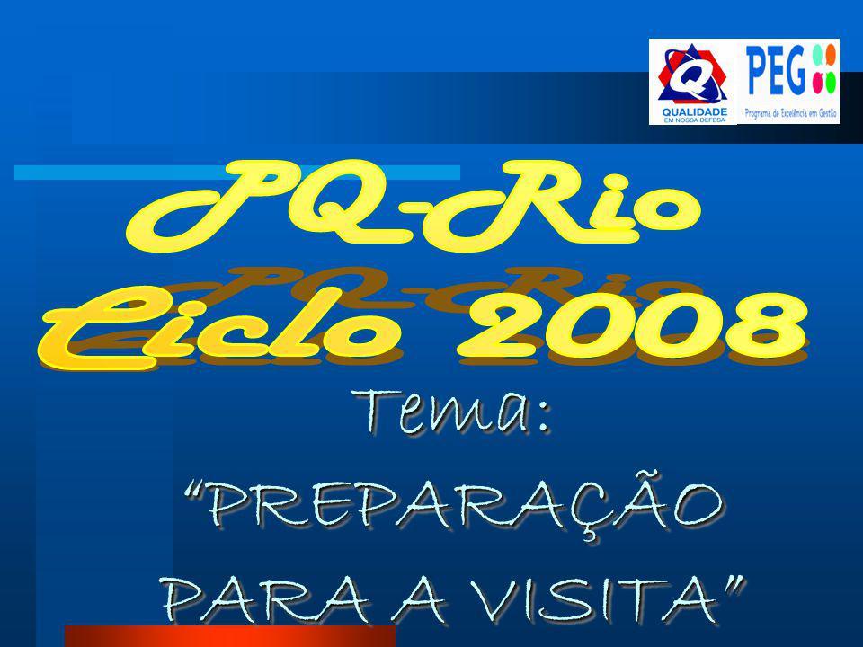 Tema: PREPARAÇÃO PARA A VISITA