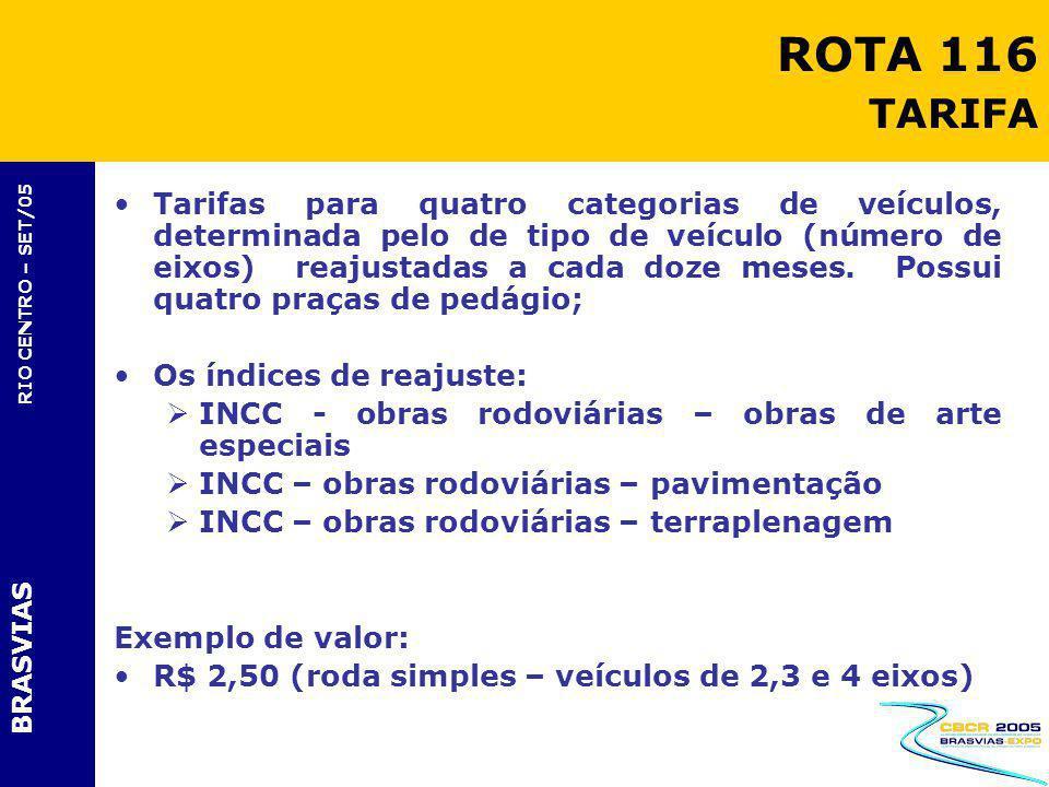 ROTA 116 TARIFA