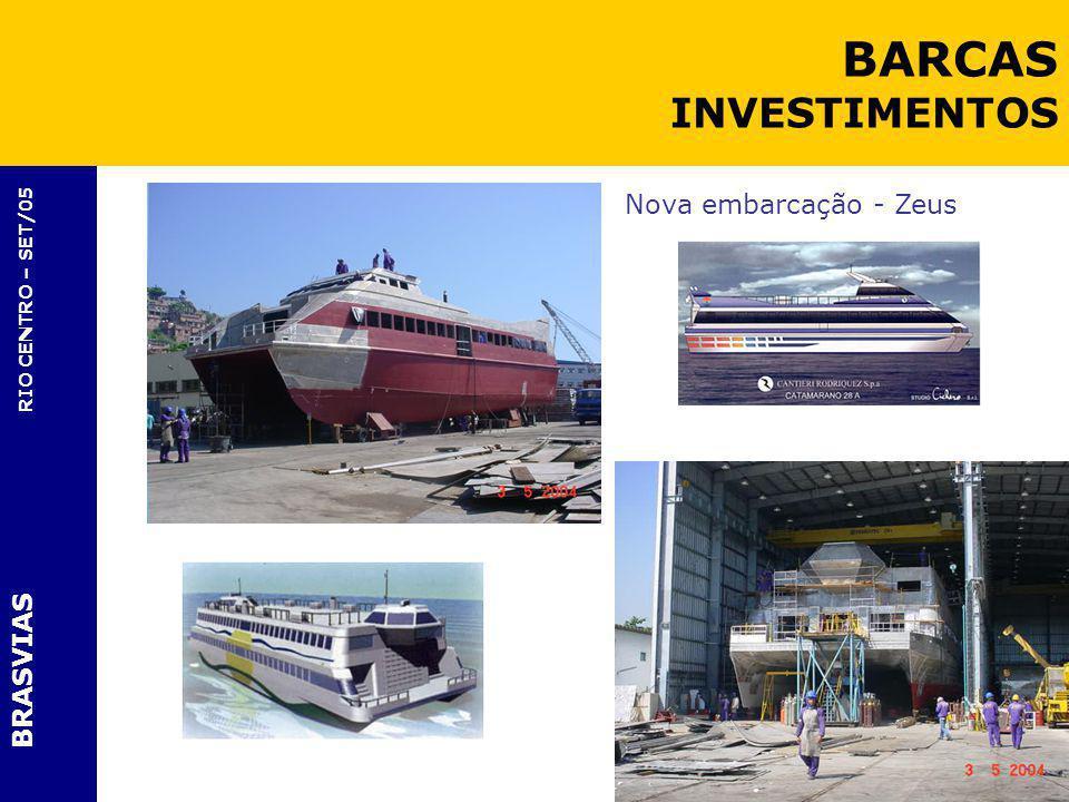 BARCAS INVESTIMENTOS Nova embarcação - Zeus