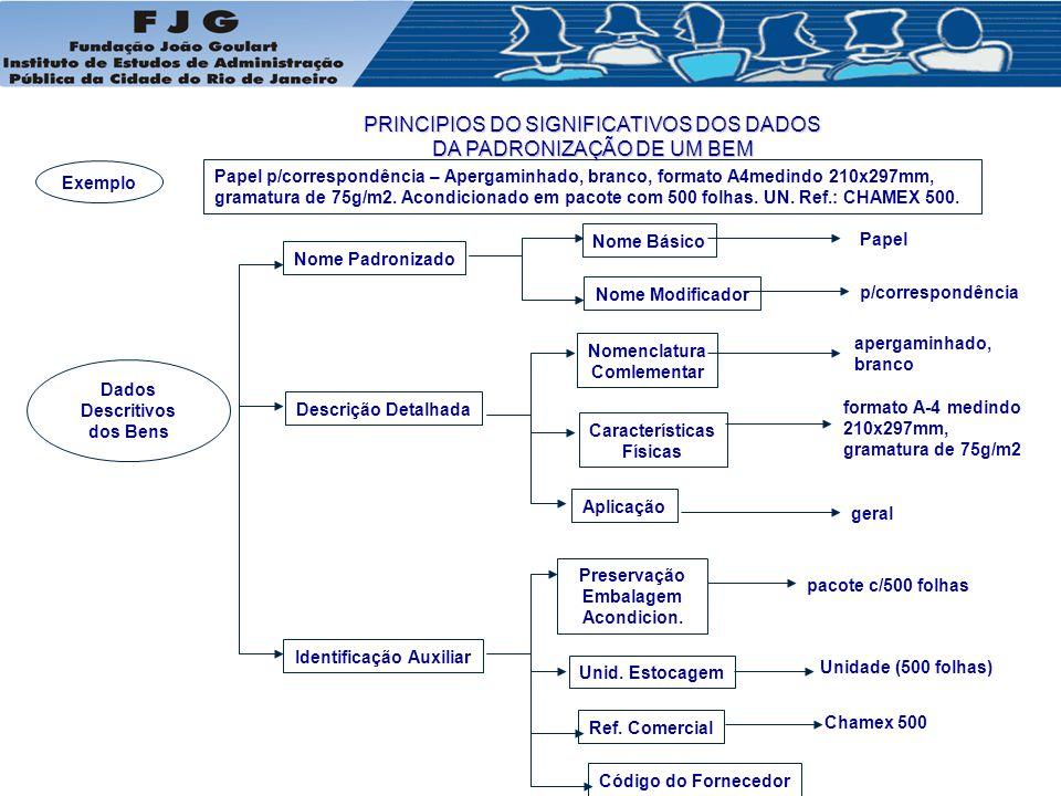 Dados Descritivos dos Bens Identificação Auxiliar