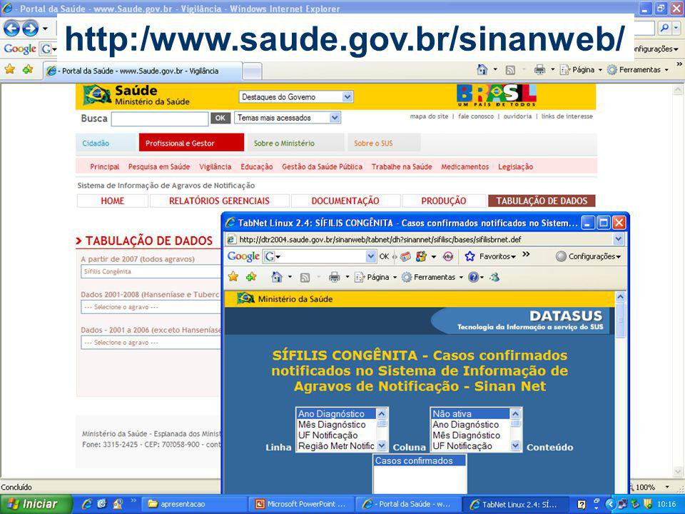 http:/www.saude.gov.br/sinanweb/