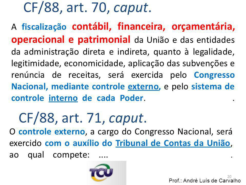 CF/88, art. 70, caput.