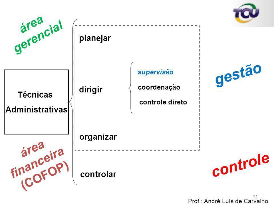 gestão controle área gerencial área financeira (COFOP) planejar