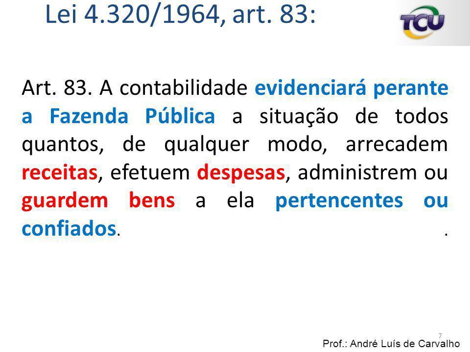 Lei 4.320/1964, art. 83: