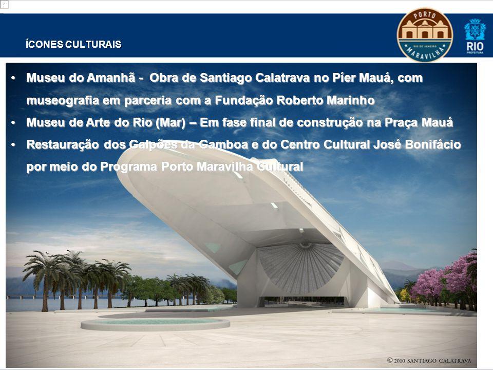 Museu de Arte do Rio (Mar) – Em fase final de construção na Praça Mauá