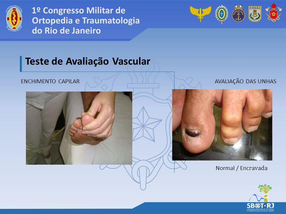 Teste de Avaliação Vascular