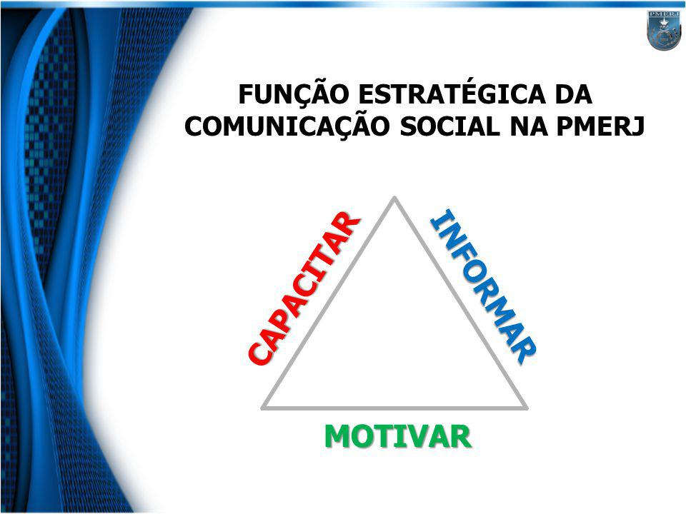 FUNÇÃO ESTRATÉGICA DA COMUNICAÇÃO SOCIAL NA PMERJ