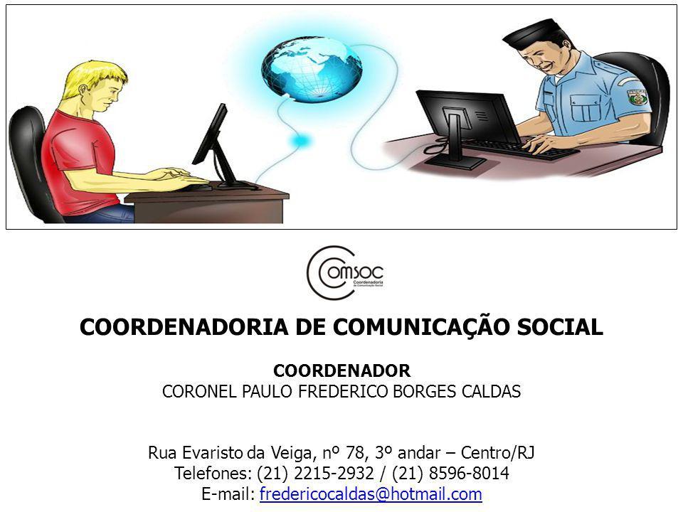 COORDENADORIA DE COMUNICAÇÃO SOCIAL