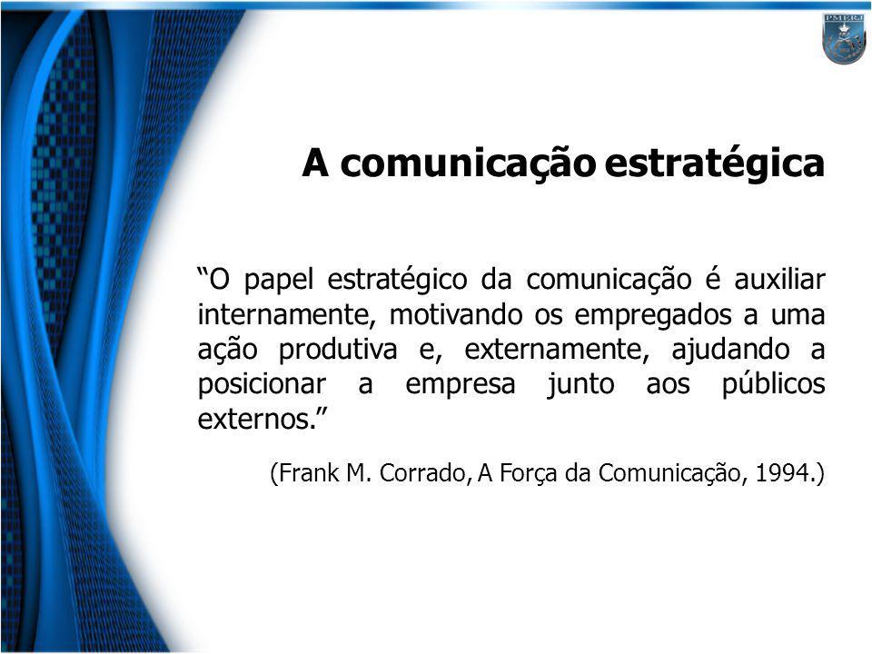 A comunicação estratégica