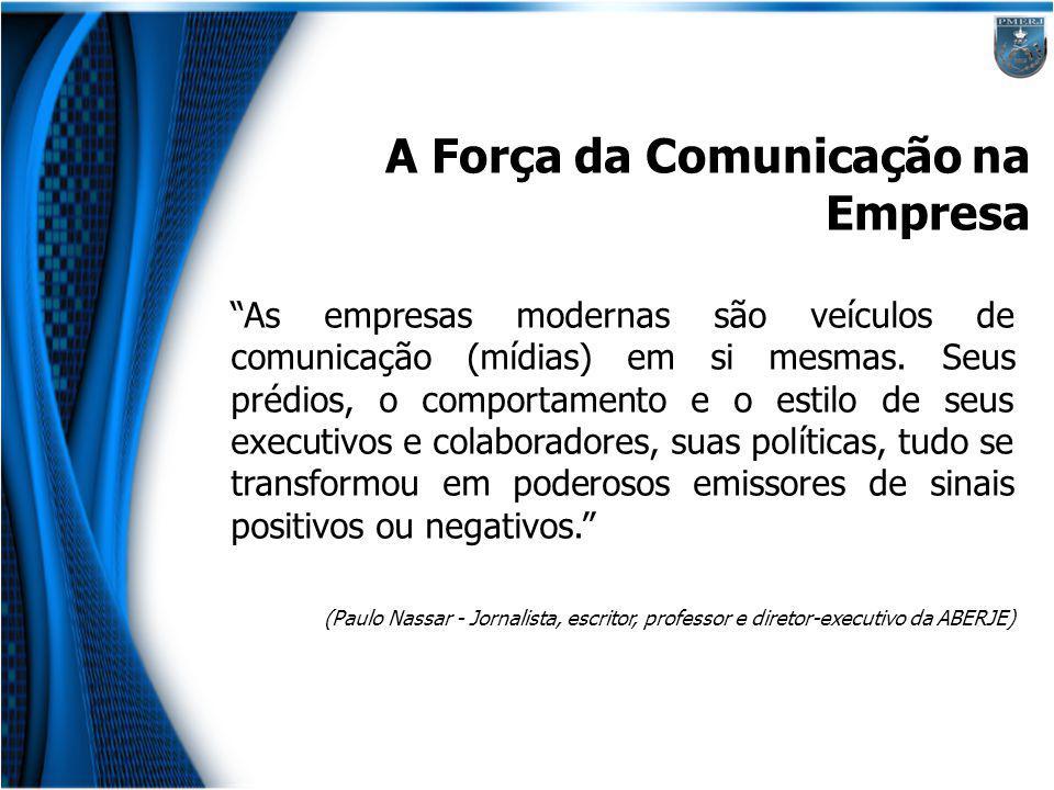 A Força da Comunicação na Empresa