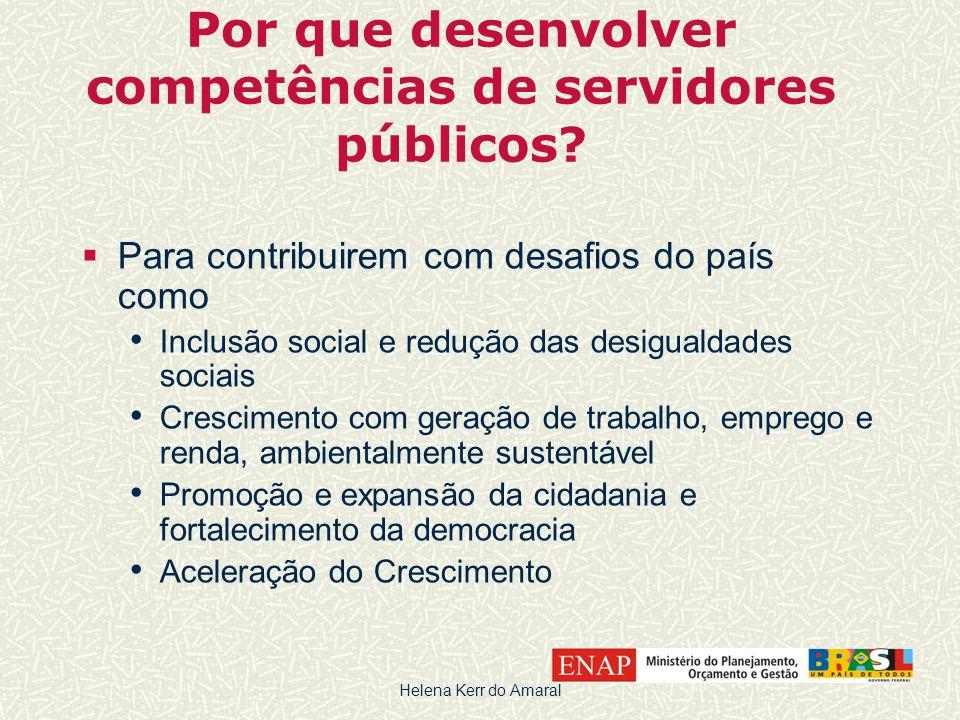 Por que desenvolver competências de servidores públicos