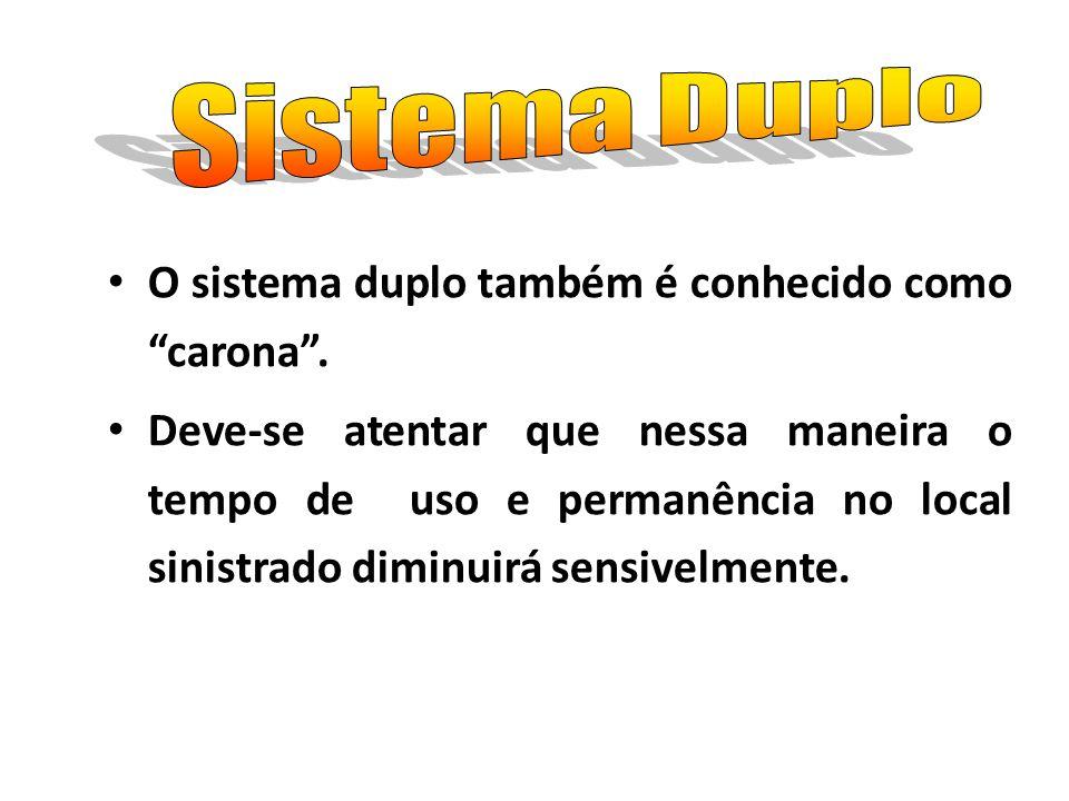 Sistema Duplo O sistema duplo também é conhecido como carona .
