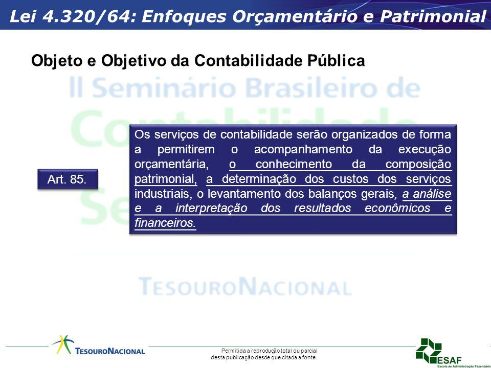 Objeto e Objetivo da Contabilidade Pública
