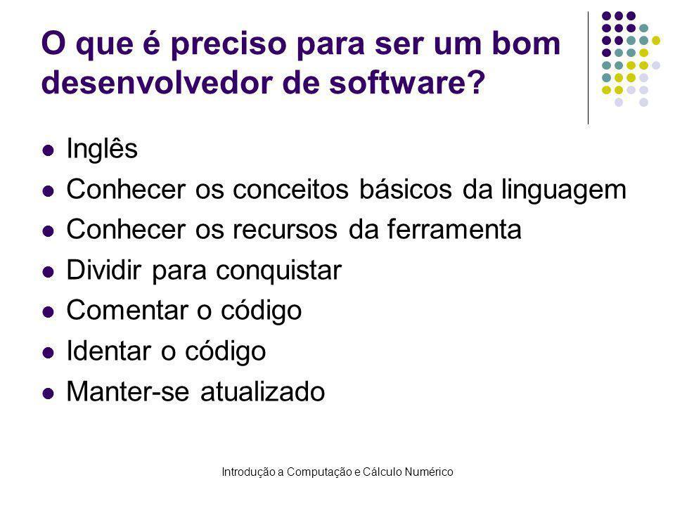 O que é preciso para ser um bom desenvolvedor de software