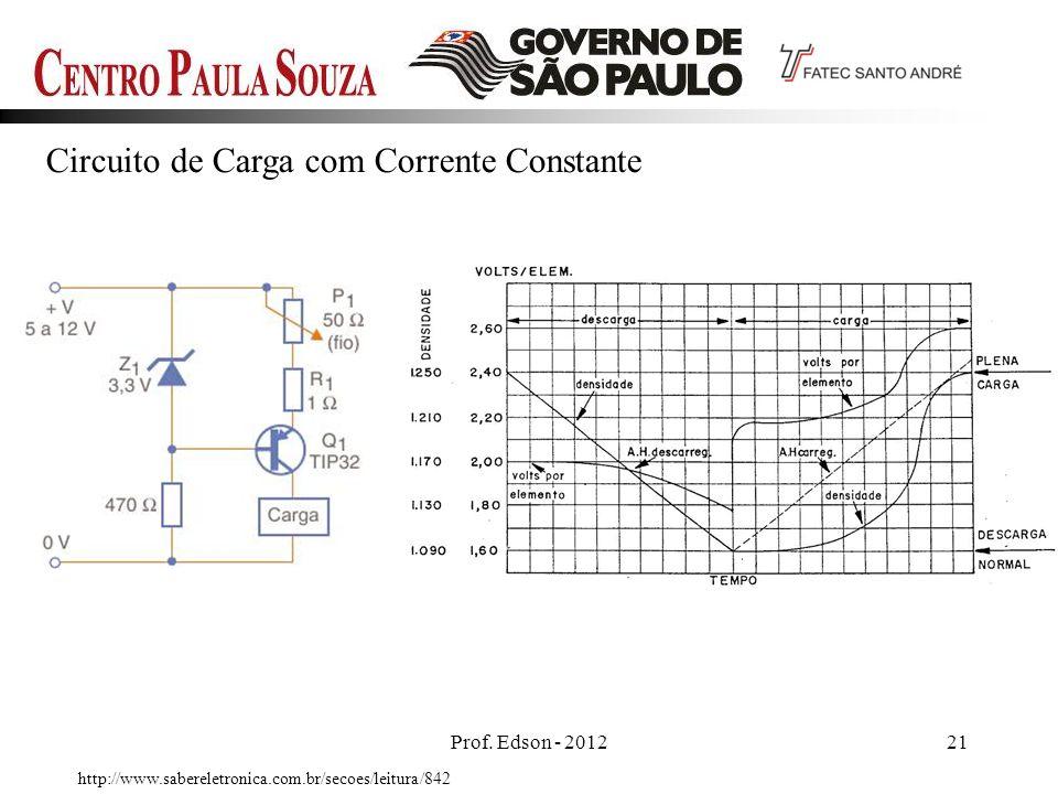 Circuito de Carga com Corrente Constante