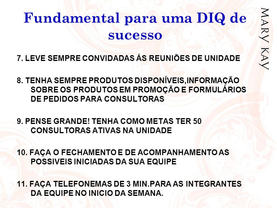 Fundamental para uma DIQ de sucesso