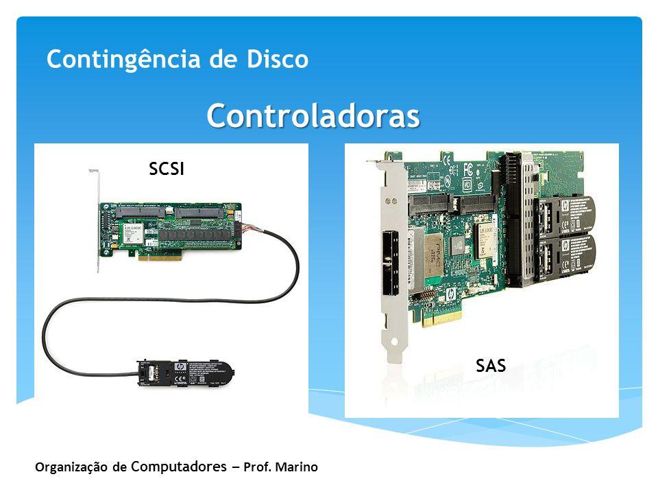 Controladoras Contingência de Disco SCSI SAS