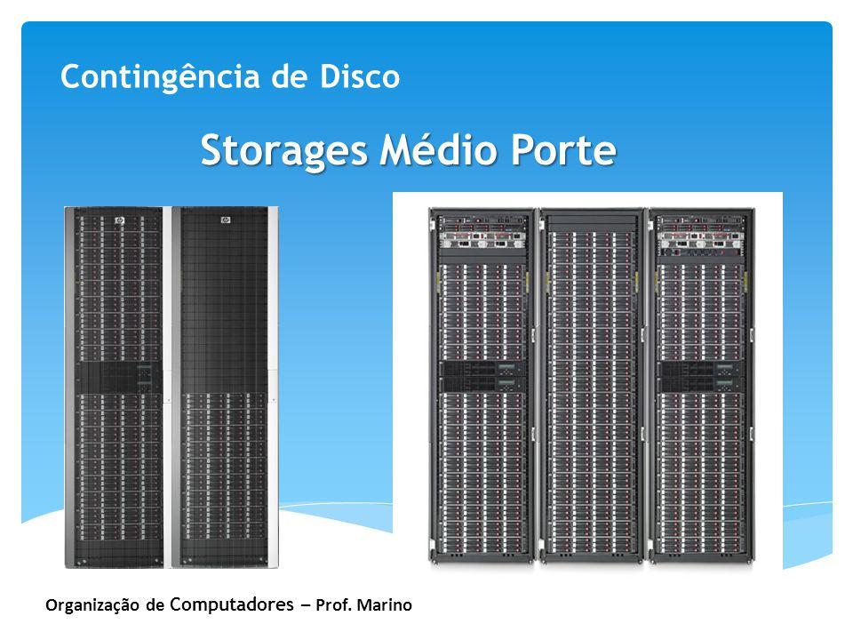 Storages Médio Porte Contingência de Disco