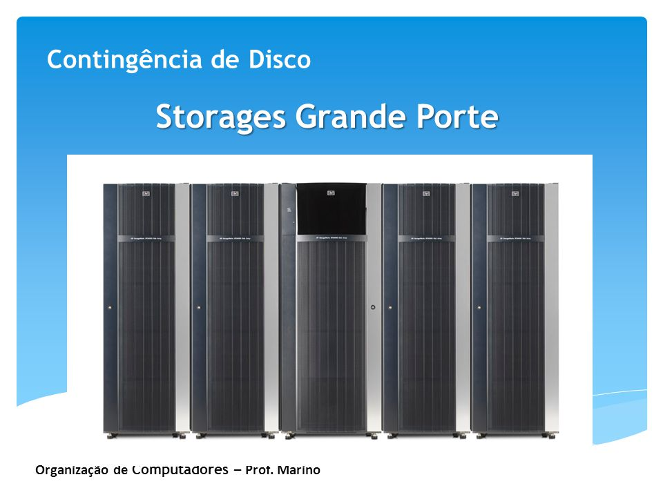Storages Grande Porte Contingência de Disco