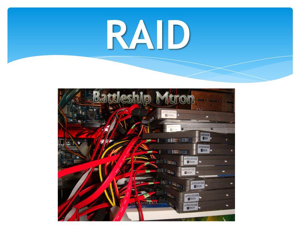RAID Uma imagem ilustrando um RAID