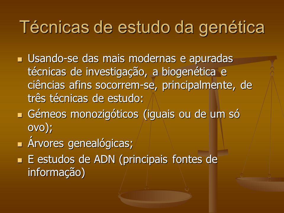Técnicas de estudo da genética