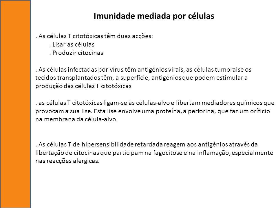 Imunidade mediada por células