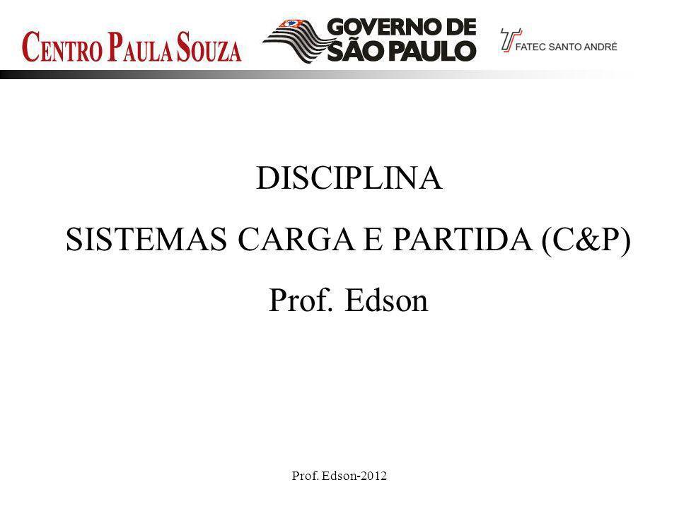 SISTEMAS CARGA E PARTIDA (C&P)