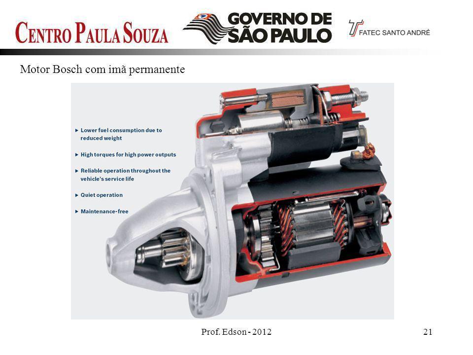 Motor Bosch com imã permanente