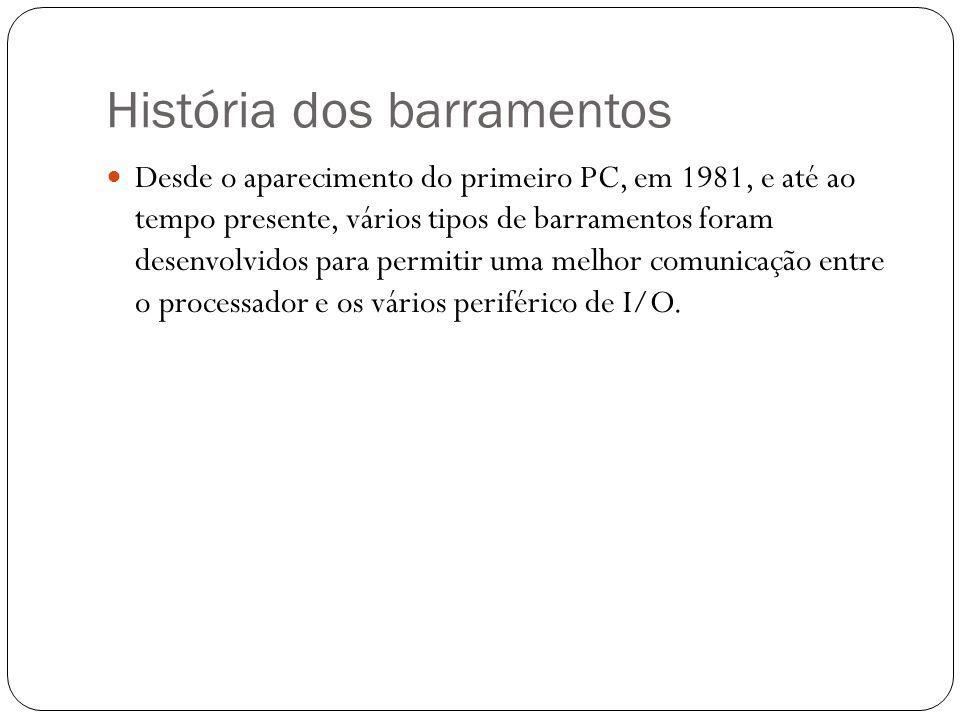 História dos barramentos