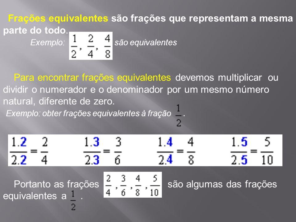 Exemplo: são equivalentes