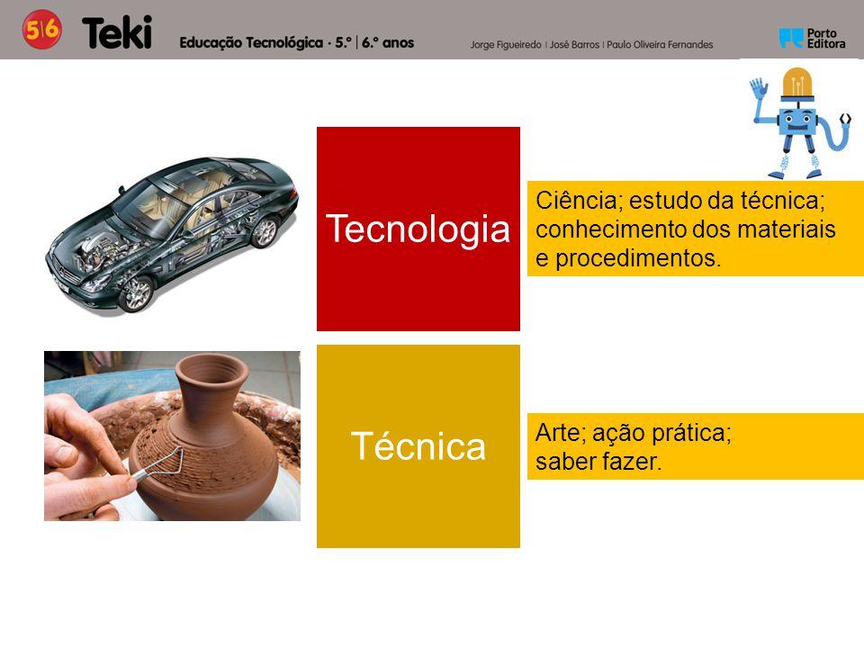 Tecnologia Técnica Ciência; estudo da técnica;
