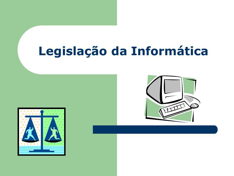Legislação da Informática