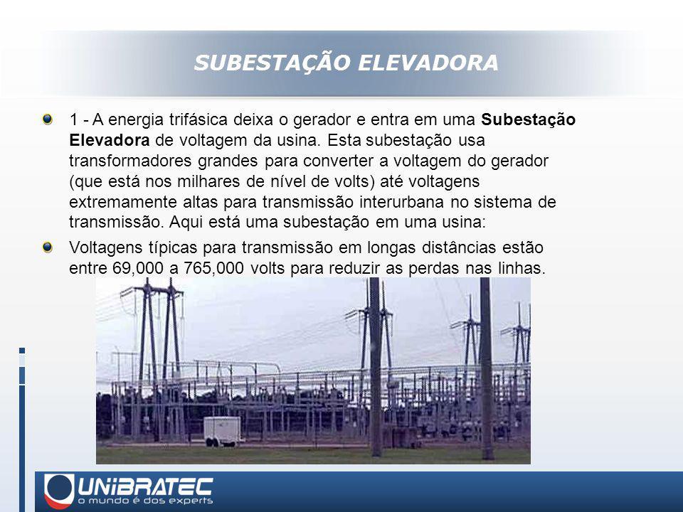 SUBESTAÇÃO ELEVADORA