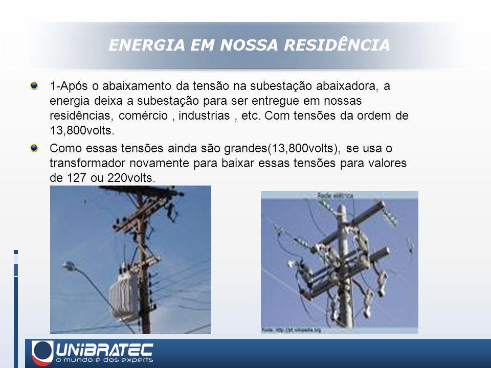 ENERGIA EM NOSSA RESIDÊNCIA
